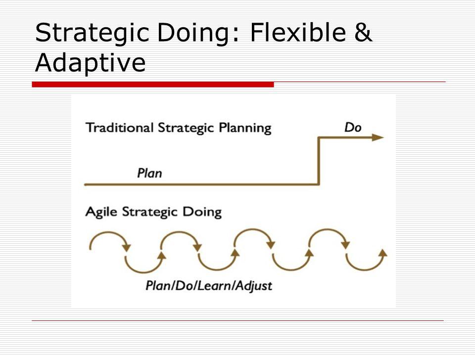 Strategic Doing: Flexible & Adaptive