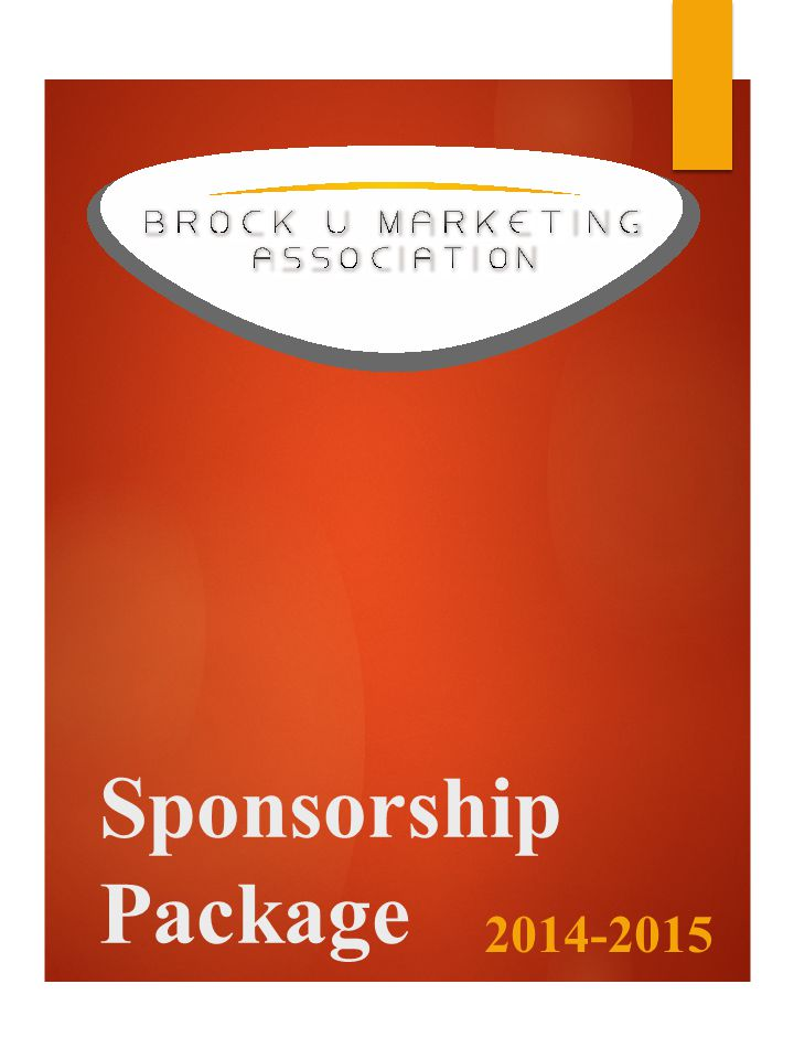 Sponsorship Package 2014-2015