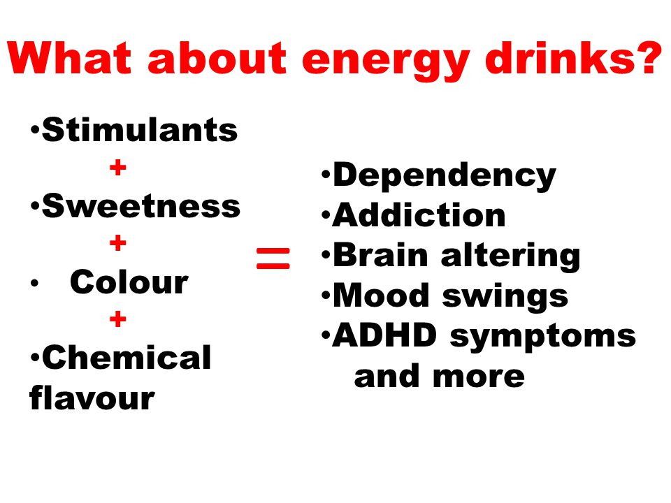 What about energy drinks.