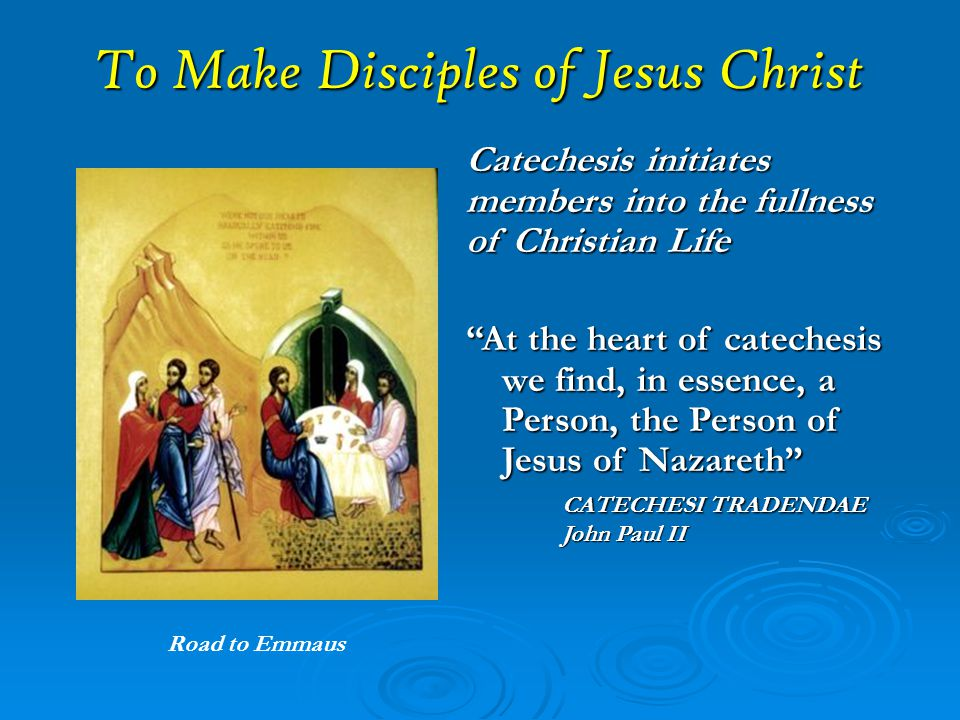Catechesis  An education of children, young people, and adults in the faith of the Church through the teaching of Christian doctrine.