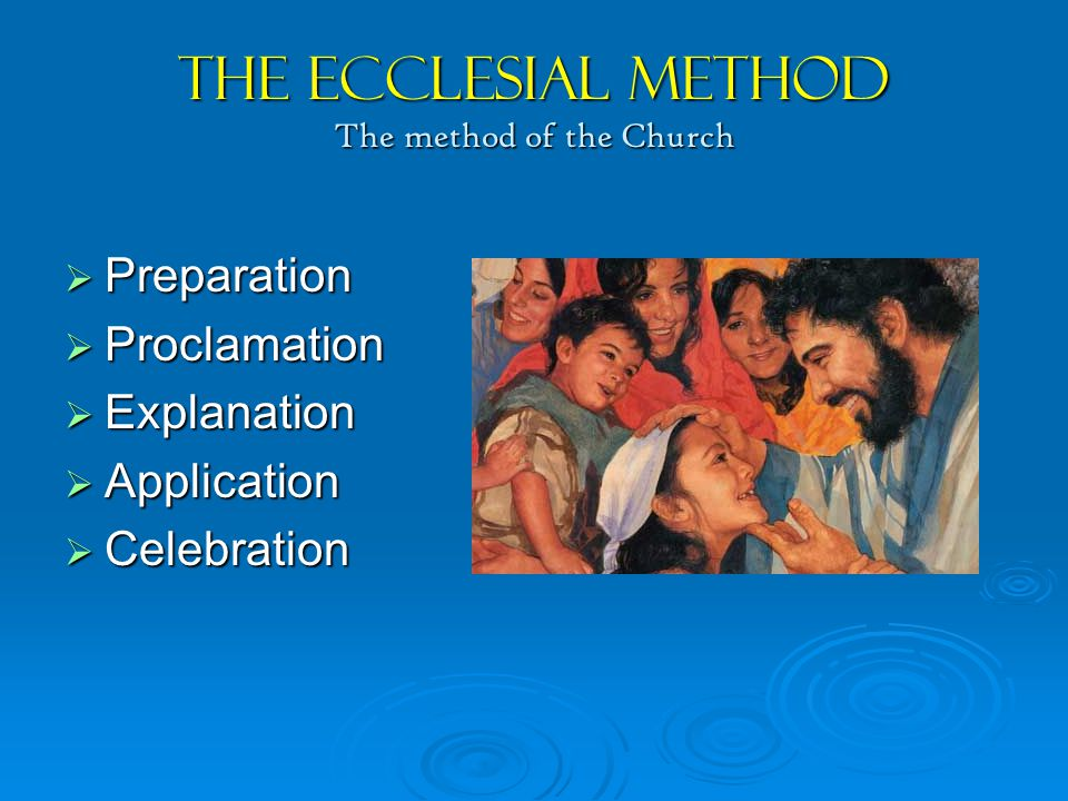 You're the Driver  No methodology, no matter how well tested can dispense with the person of the catechist in every phase of the catechetical process.