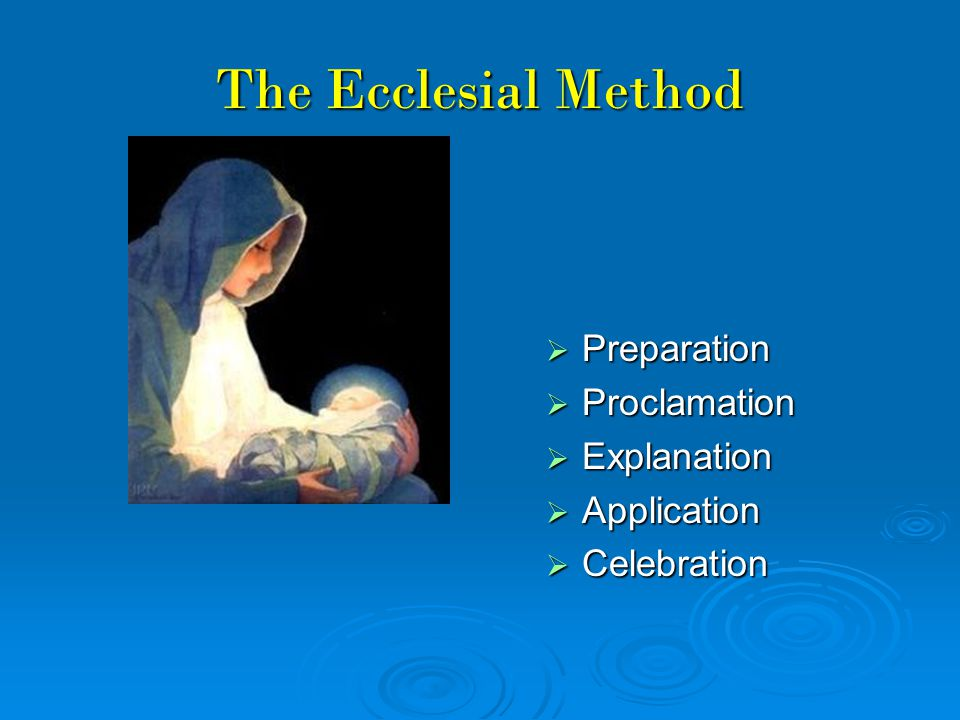 Explanation Essentials for teaching Mary: 1.Mother of God (CCC 466, 495) 2.