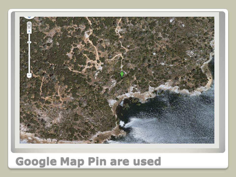 Google Map Pin are used