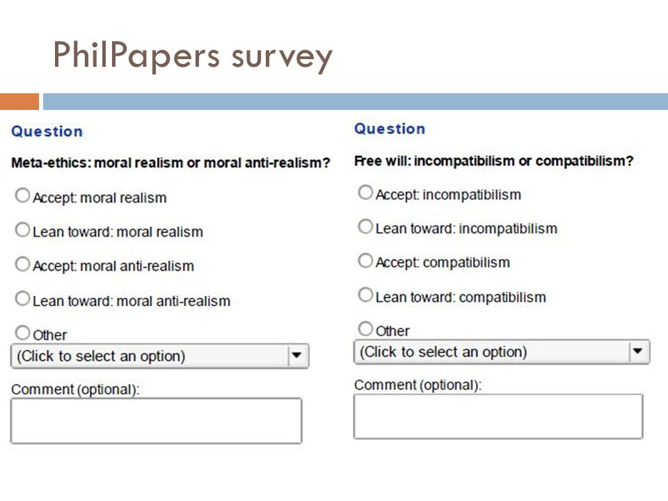 PhilPapers survey