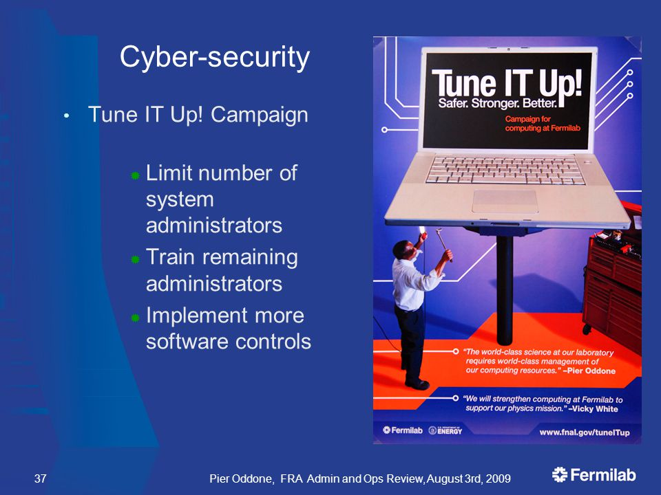 Cyber-security Tune IT Up.