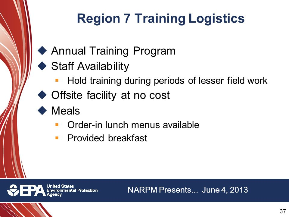 37 22 nd Annual NARPM Training Program 37 22 nd Annual NARPM Training Program NARPM Presents...