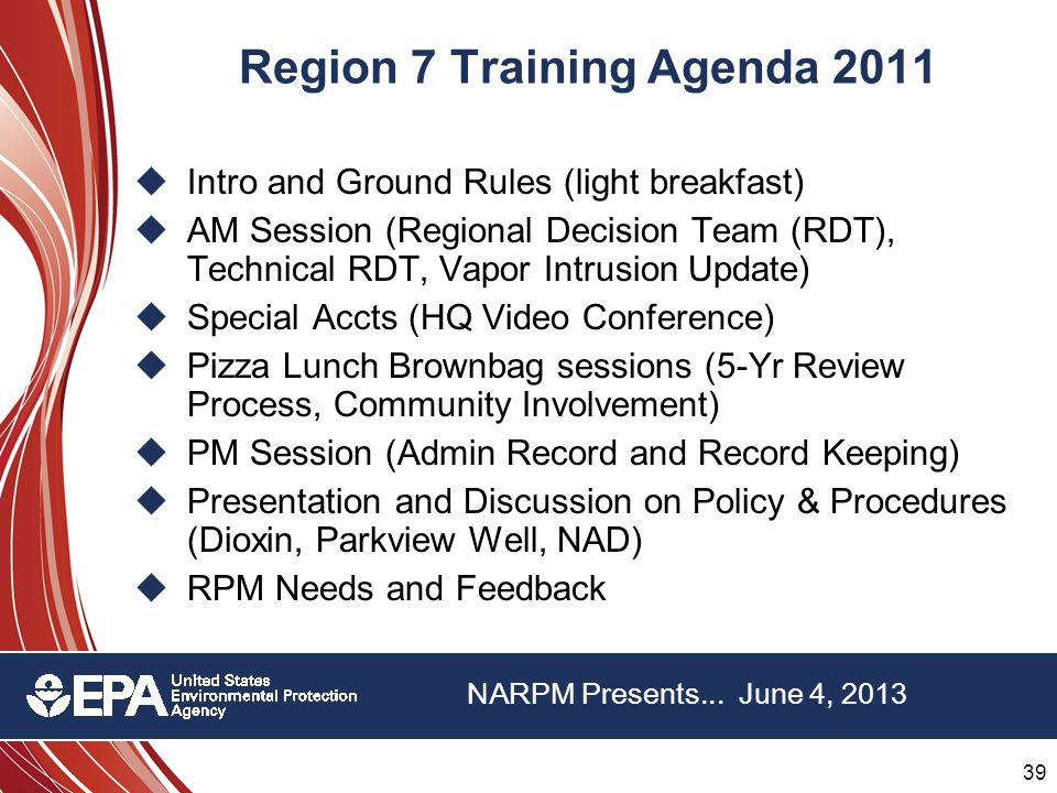 39 22 nd Annual NARPM Training Program 39 22 nd Annual NARPM Training Program NARPM Presents...