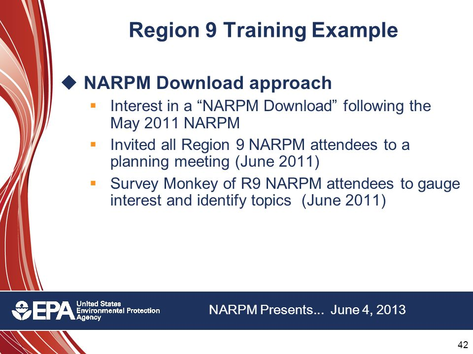 42 22 nd Annual NARPM Training Program 42 22 nd Annual NARPM Training Program NARPM Presents...