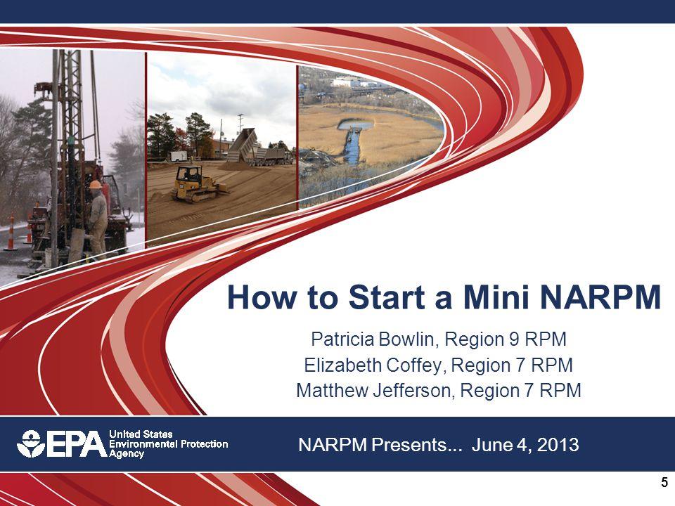 22 nd Annual NARPM Training Program 5 NARPM Presents...