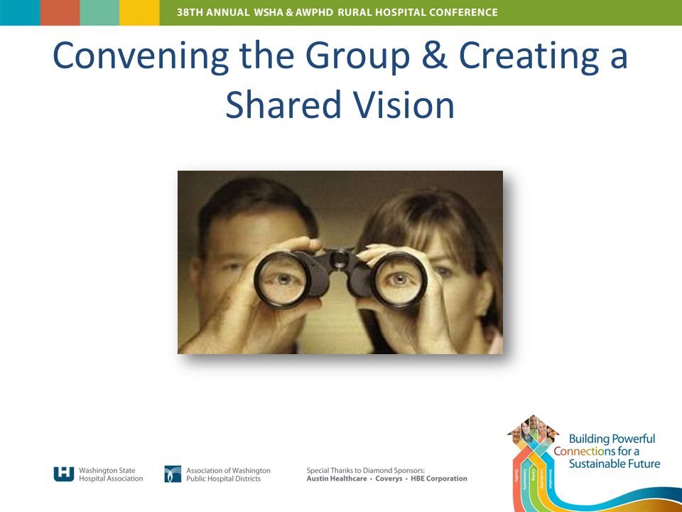Convening the Group & Creating a Shared Vision