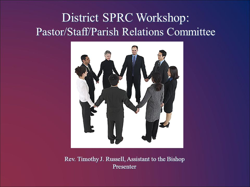 Who is a member of the Staff / Pastor Parish Relations Committee.
