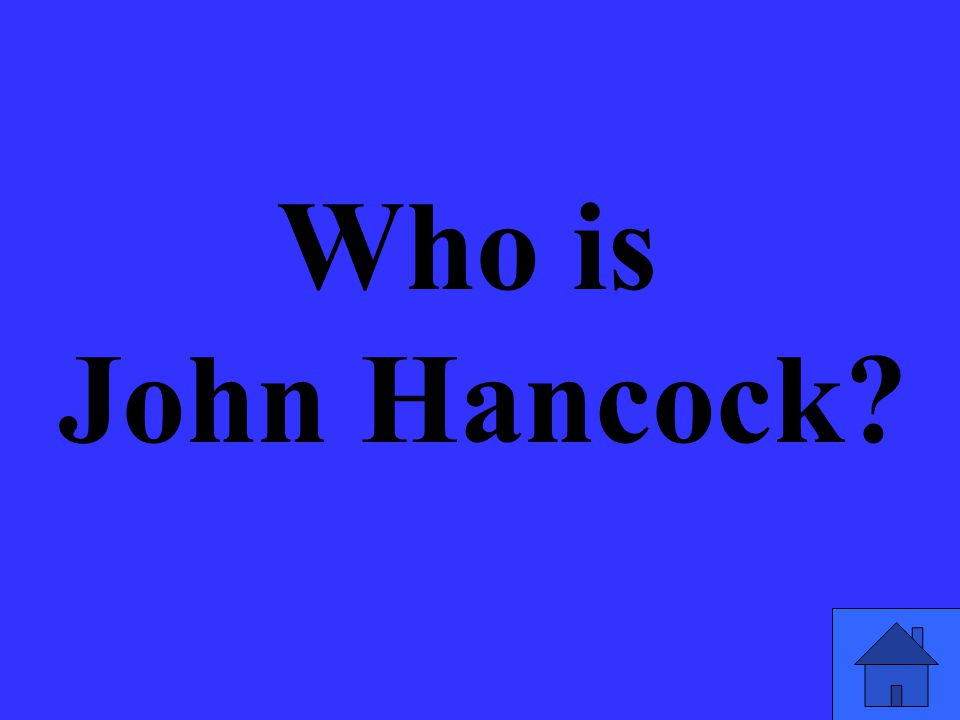 Who is John Hancock