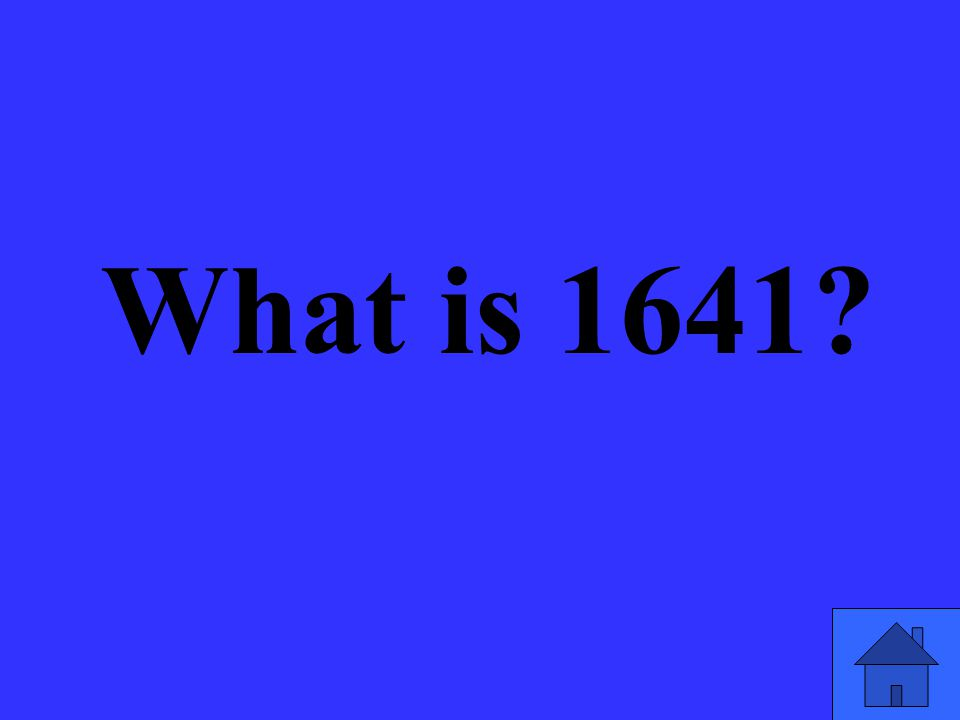What is 1641