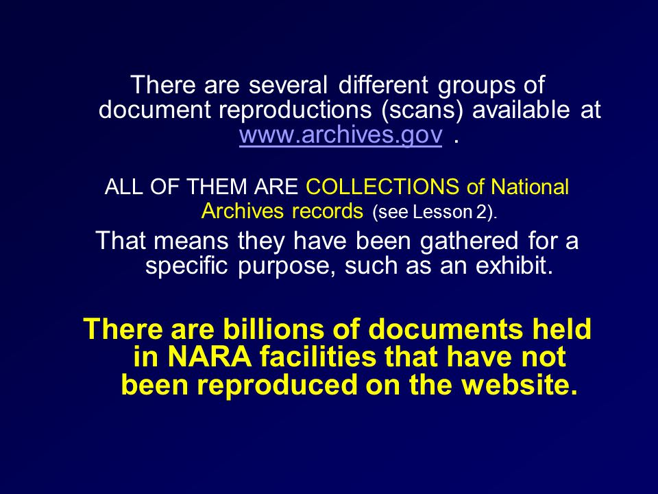 There are several different groups of document reproductions (scans) available at www.archives.gov.