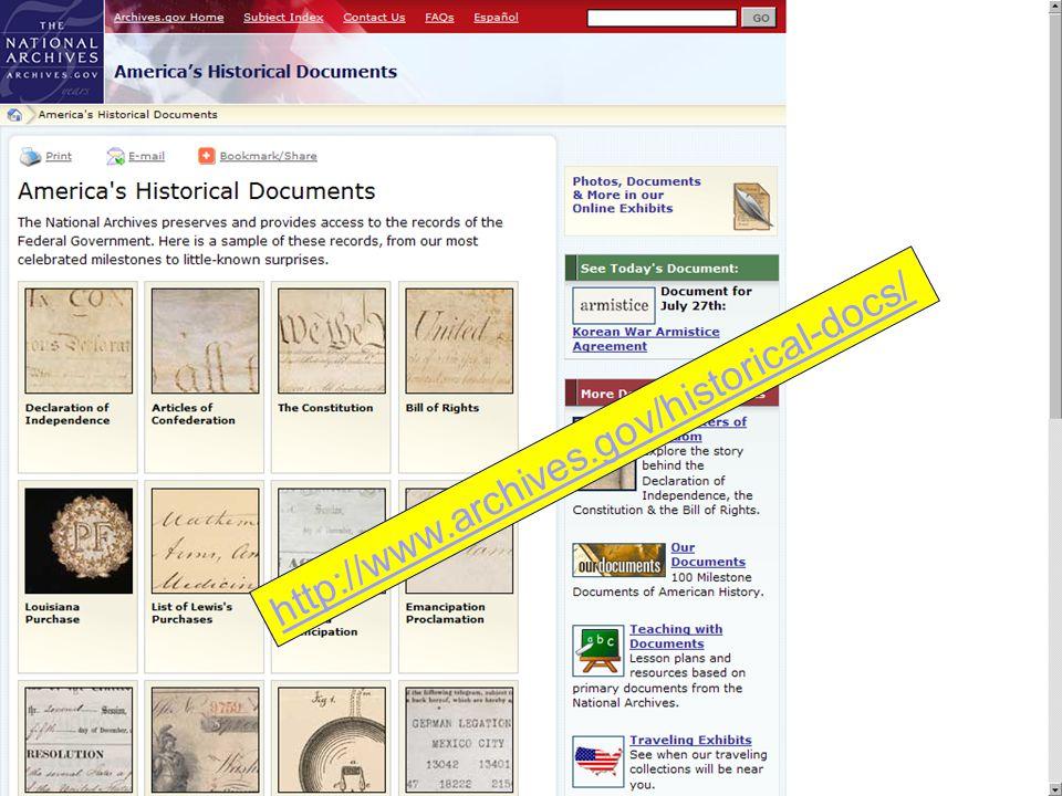 http://www.archives.gov/historical-docs/