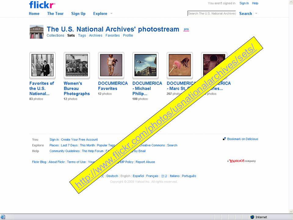 http://www.flickr.com/photos/usnationalarchives/sets/