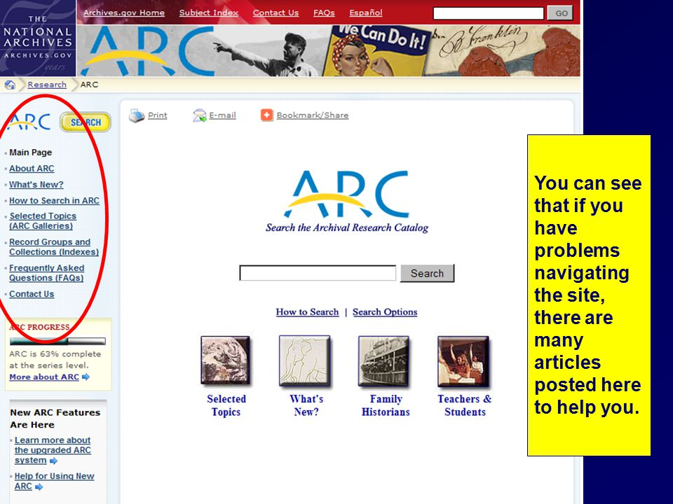 You can see that if you have problems navigating the site, there are many articles posted here to help you.
