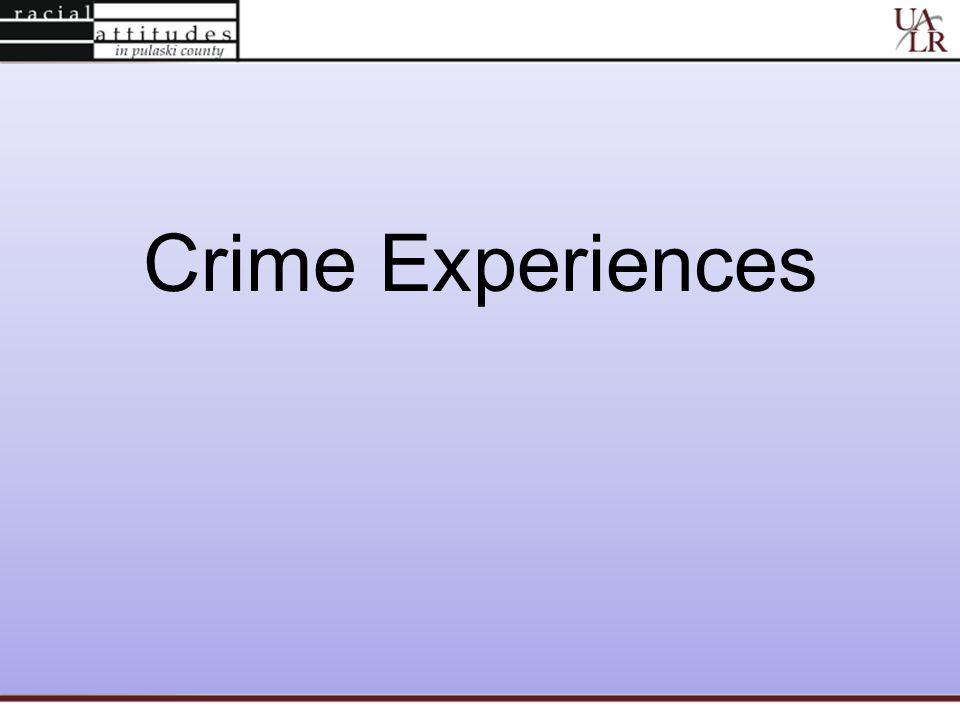 Crime Experiences