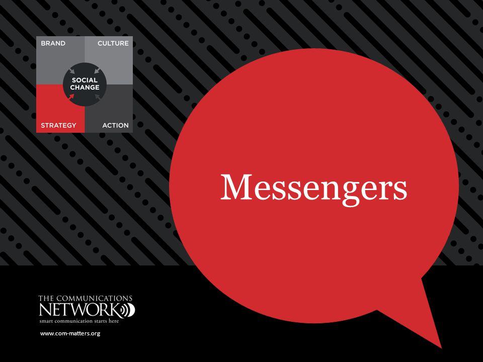 www.com-matters.org Messengers www.com-matters.org