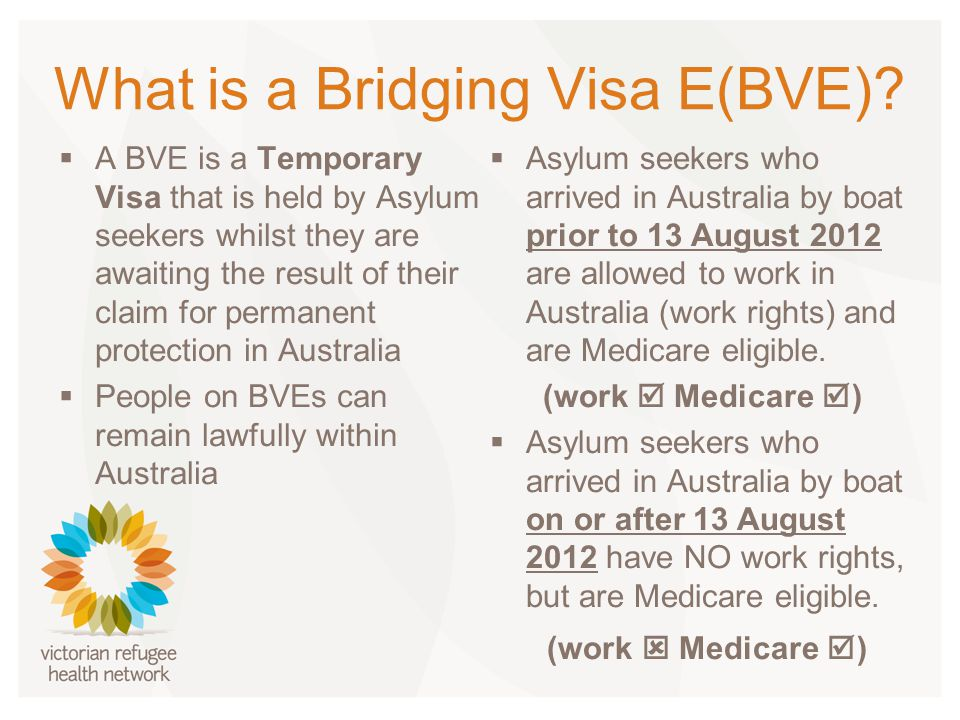 What is a Bridging Visa E(BVE).