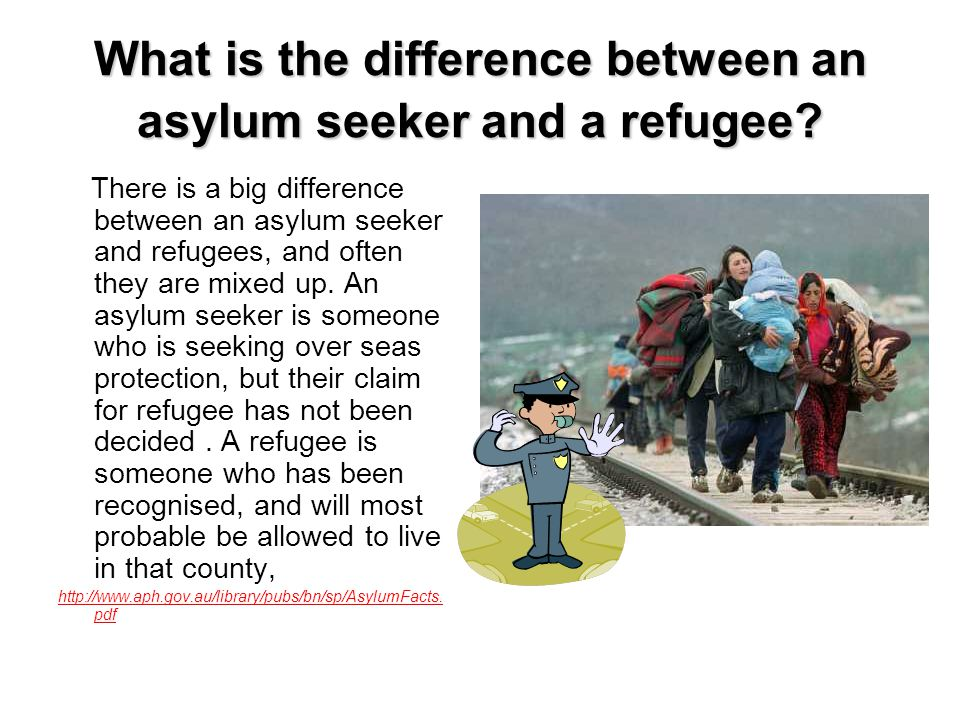 Do most asylum seekers arrive by boat.
