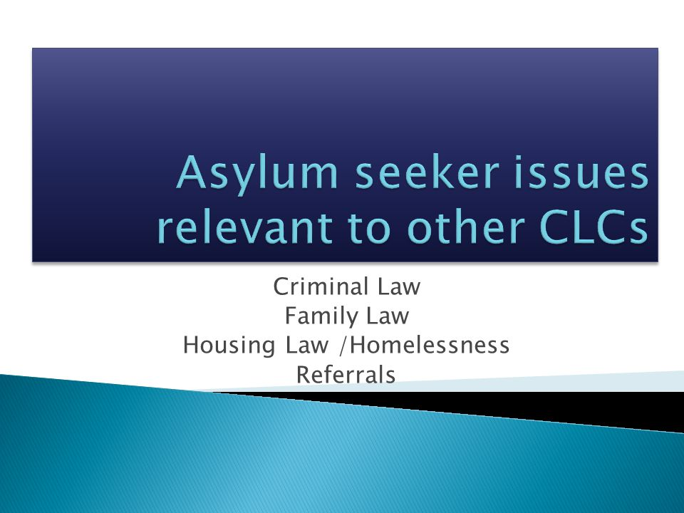 The criminal law impacts on the success of a Protection visa application in two key ways: (1) Character (s501 Migration Act) (2) Joint asylum applications and domestic violence and/or relationship breakdown