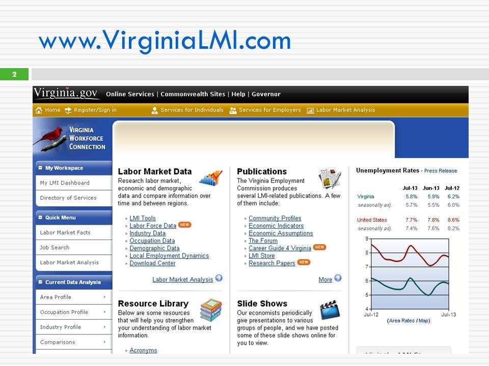 www.VirginiaLMI.com 2