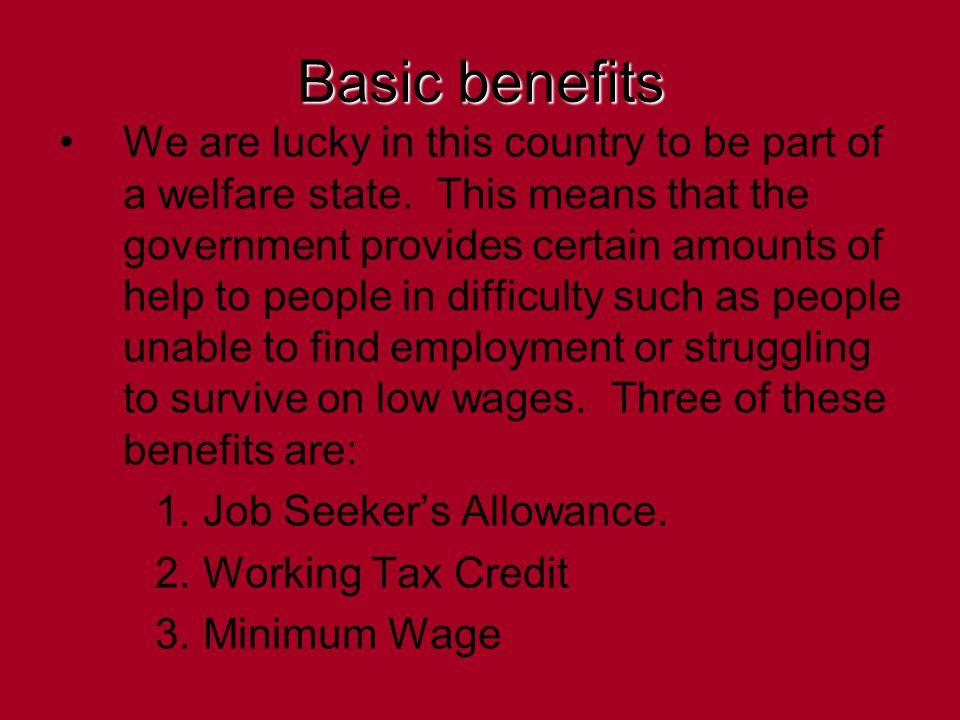 What is Job Seeker's Allowance.