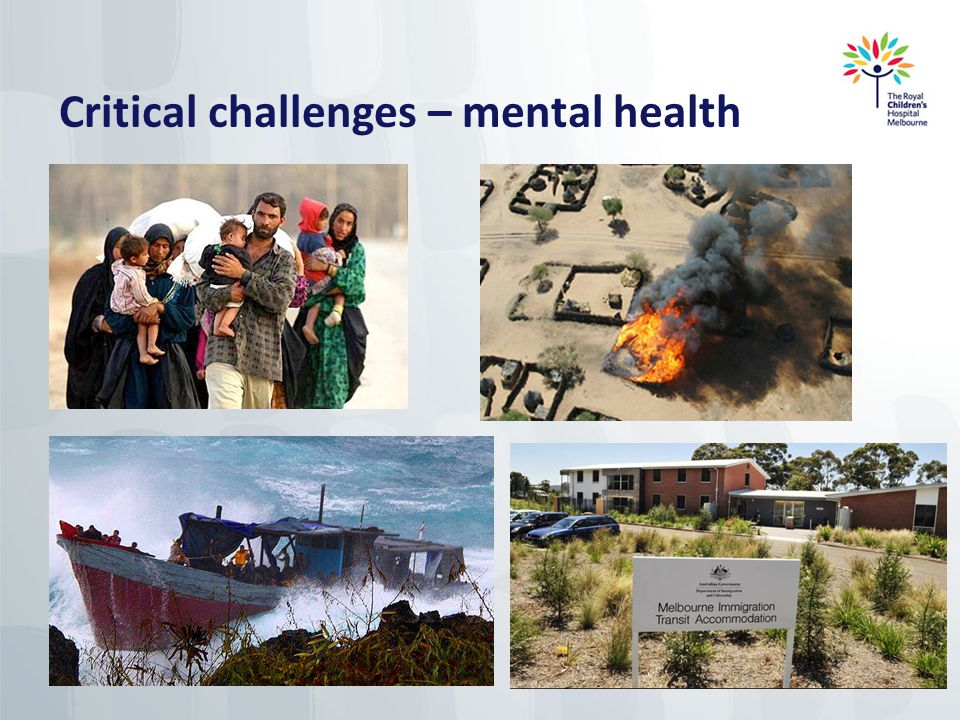 Critical challenges – mental health