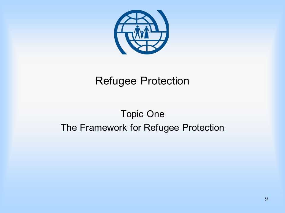 Essentials of Migration Management 10 Topic One The Framework for Refugee Protection Important Points 1.Until a claim for refugee status is examined fairly, the principle of non- refoulement applies, and asylum-seekers are entitled not to be returned and to benefit from humane standards of treatment.