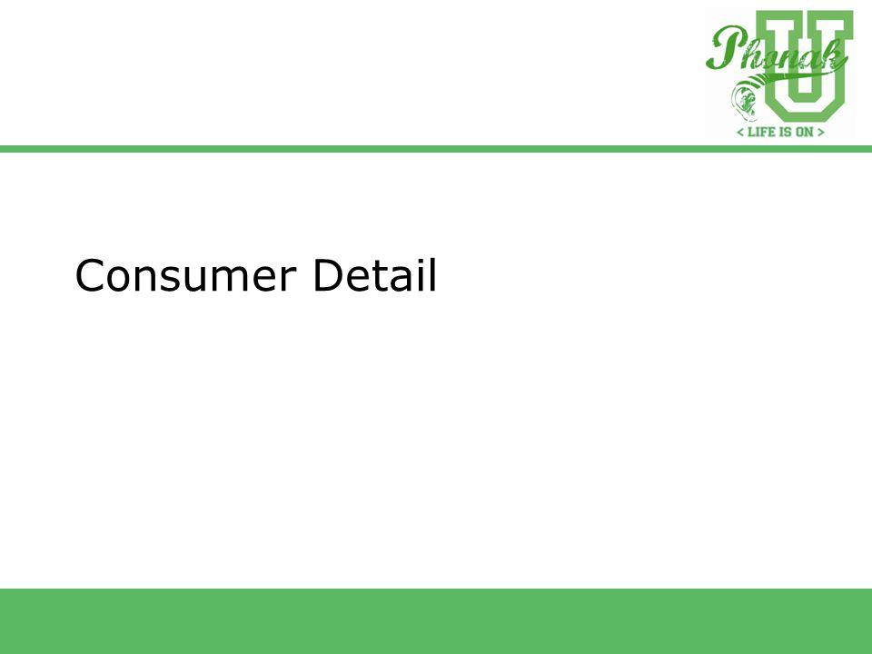 Consumer Detail
