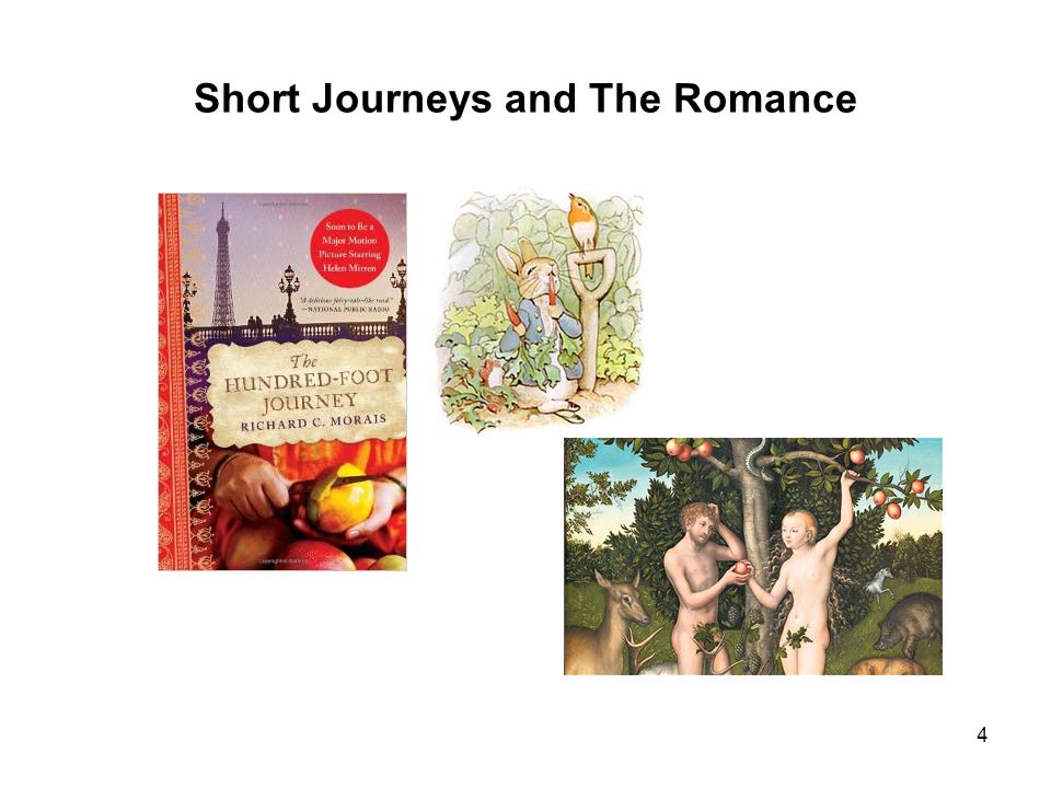 Short Journeys and The Romance 4