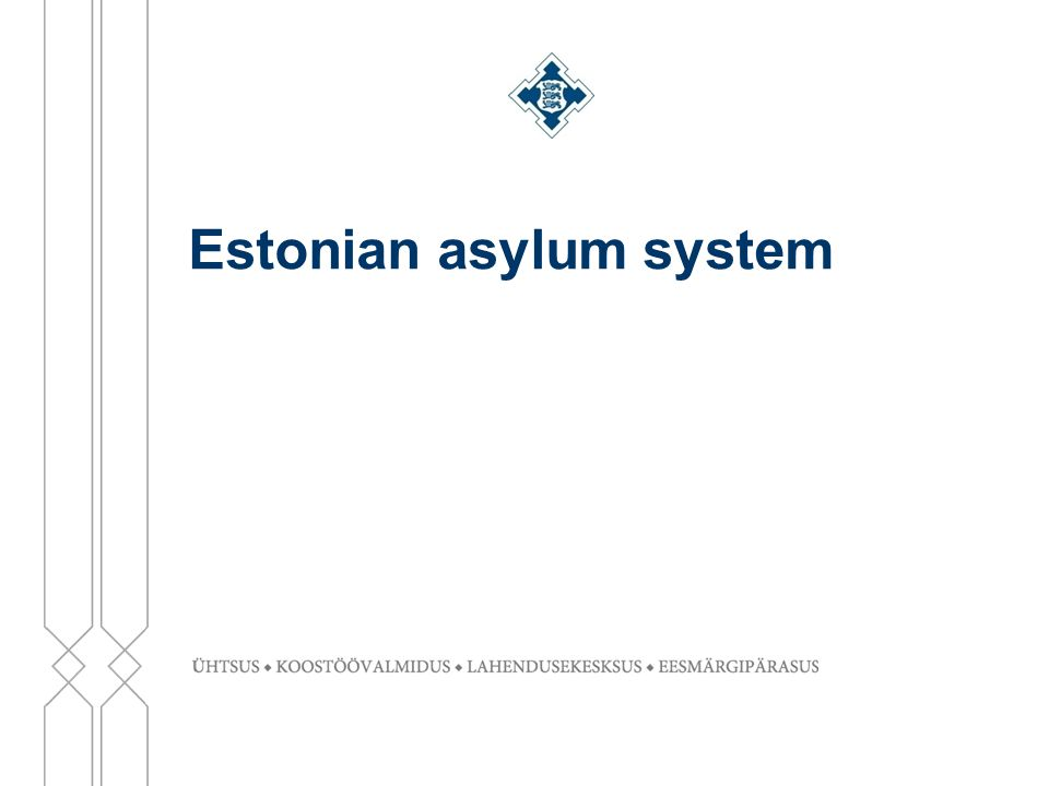 Estonian asylum system