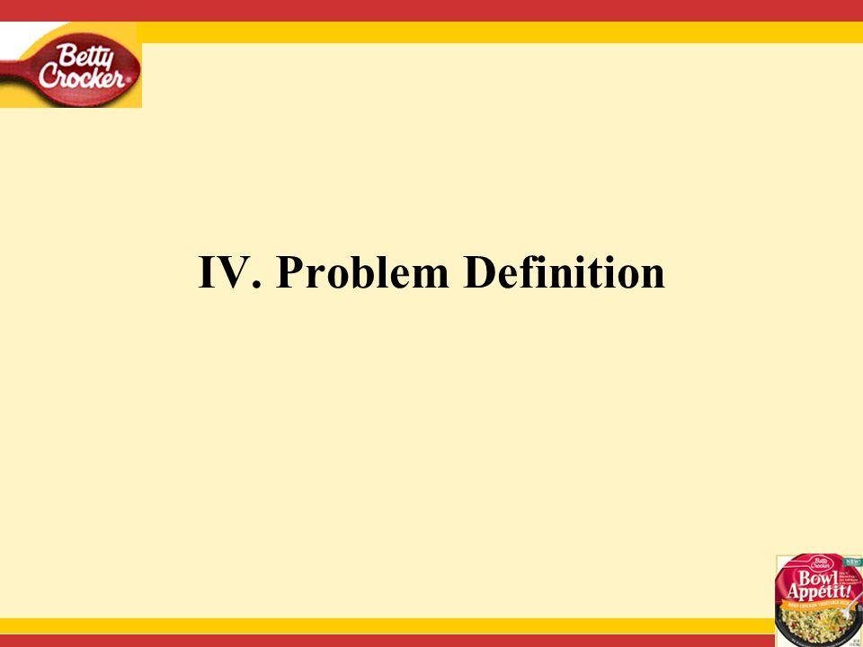 IV. Problem Definition