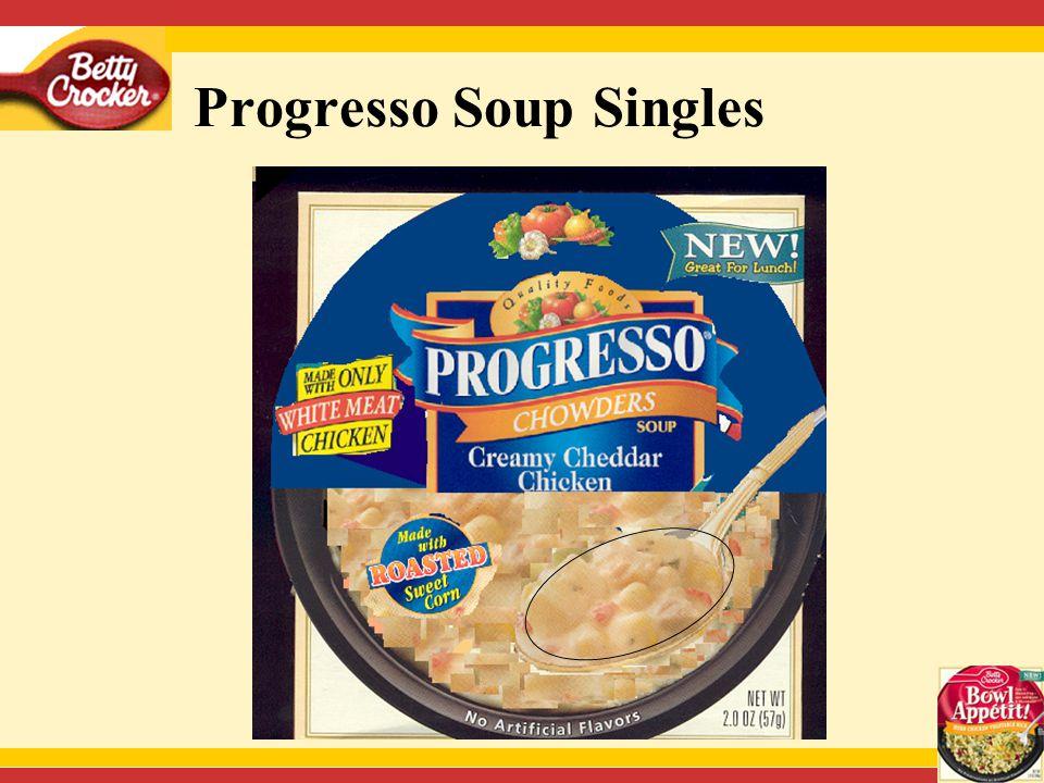 53 Progresso Soup Singles