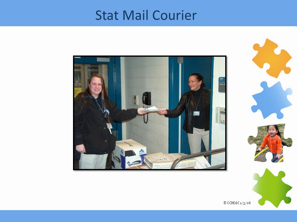 Stat Mail Courier © CCHMC 1/3/06