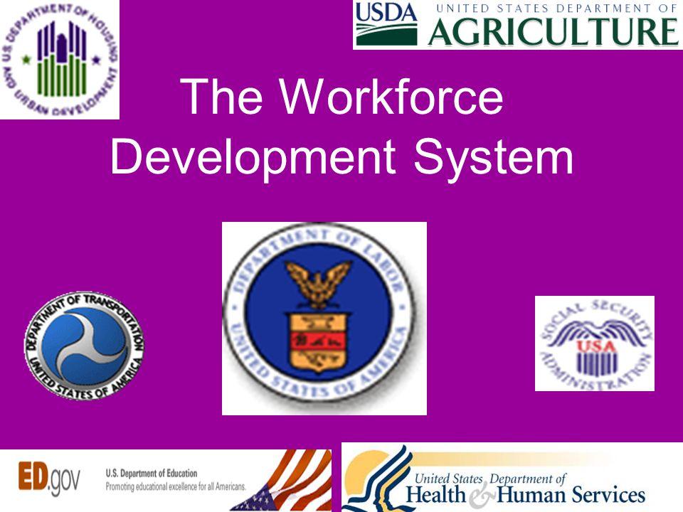 The Workforce Development System