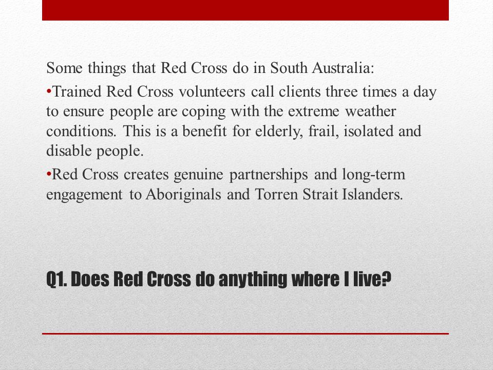 Q2.What can young people do for Red Cross.