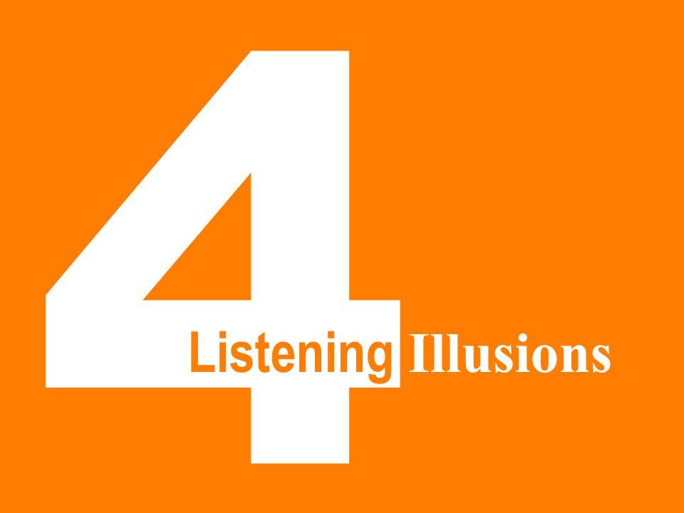 4 Listening Illusions