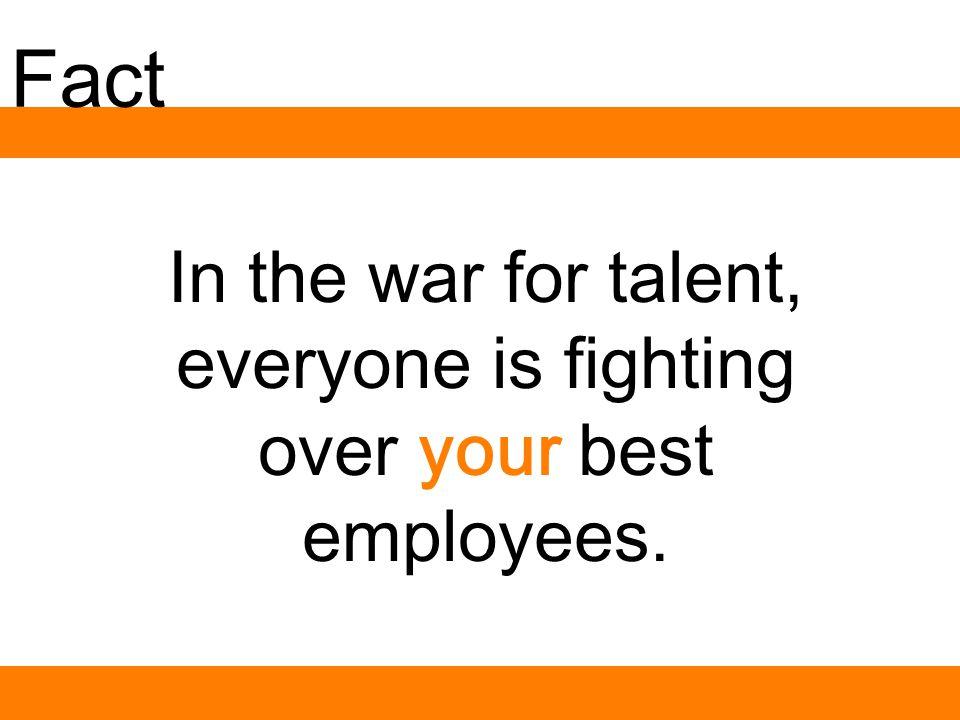 What talent war? 17-21= -4