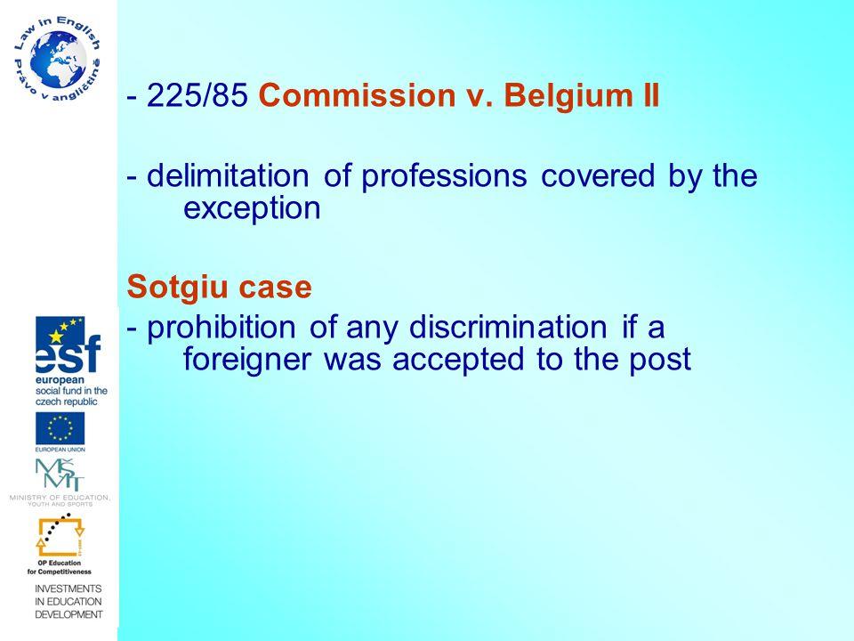 - 225/85 Commission v.