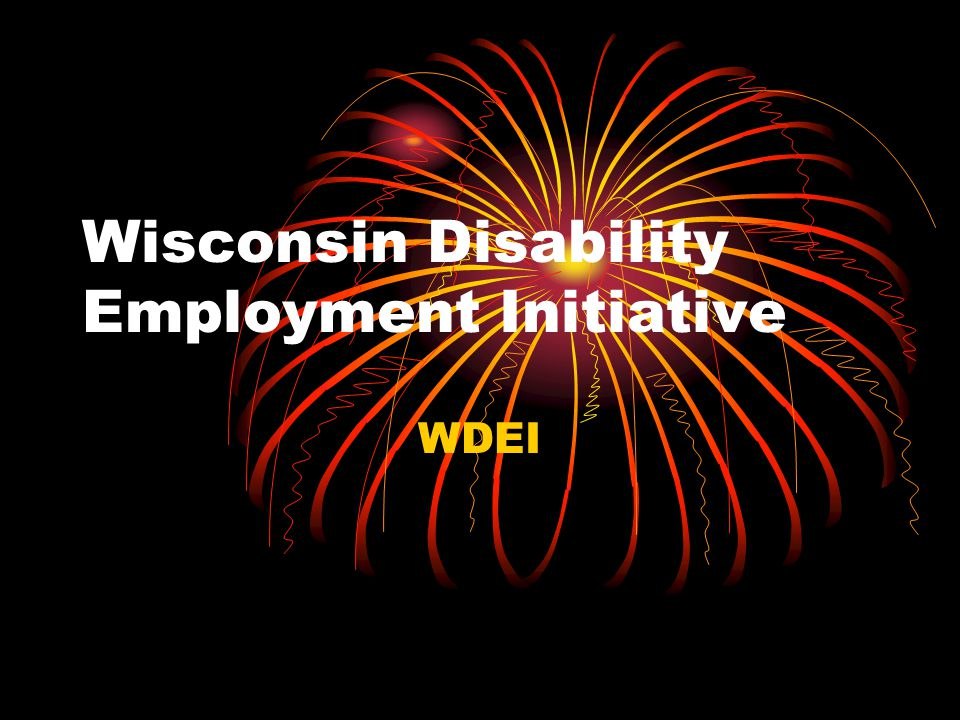DWD DEI Contacts Cathy Crary, Grant Manager Cathy.Crary@dwd.wisconsin.gov Nancy Kargel, High Risk Population Specialist – State Lead NancyP.Kargel@dwd.wisconsin.gov 608 – 266 – 8563