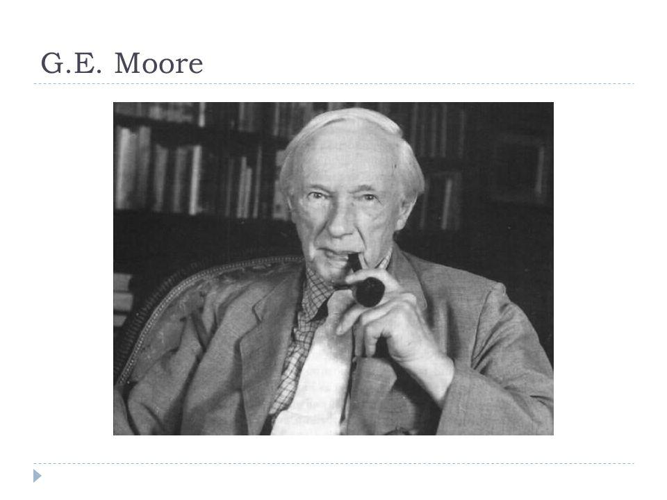 G.E. Moore
