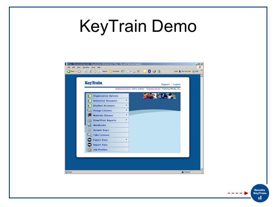 KeyTrain Demo