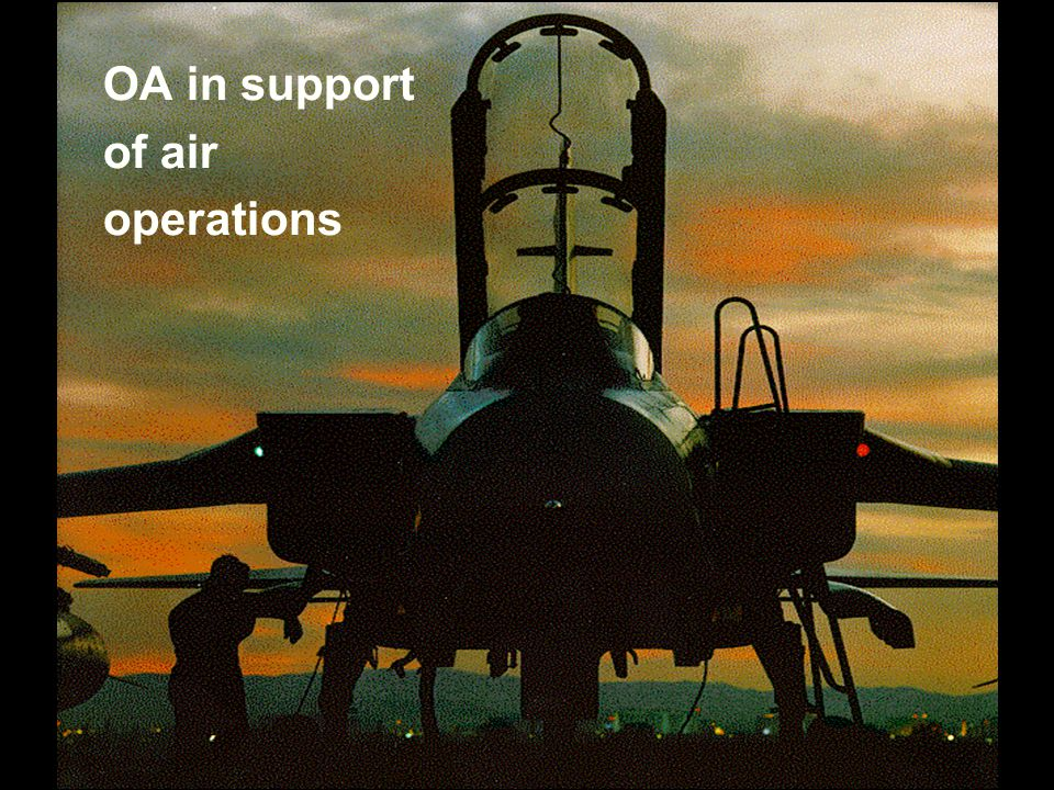 OA in support of air operations
