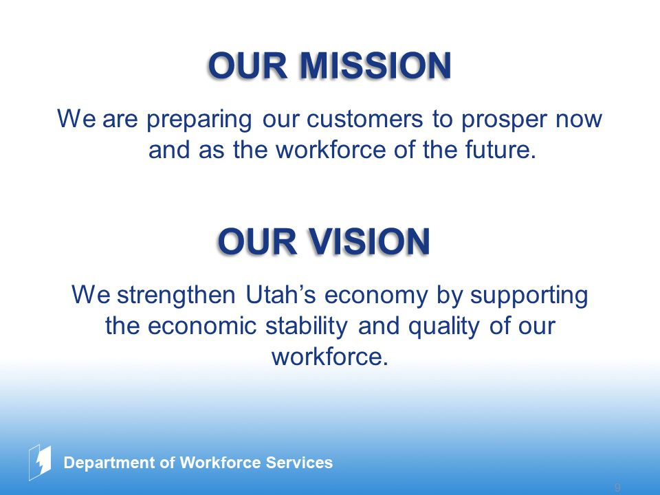 www.company.com 9 OUR MISSION We are preparing our customers to prosper now and as the workforce of the future.