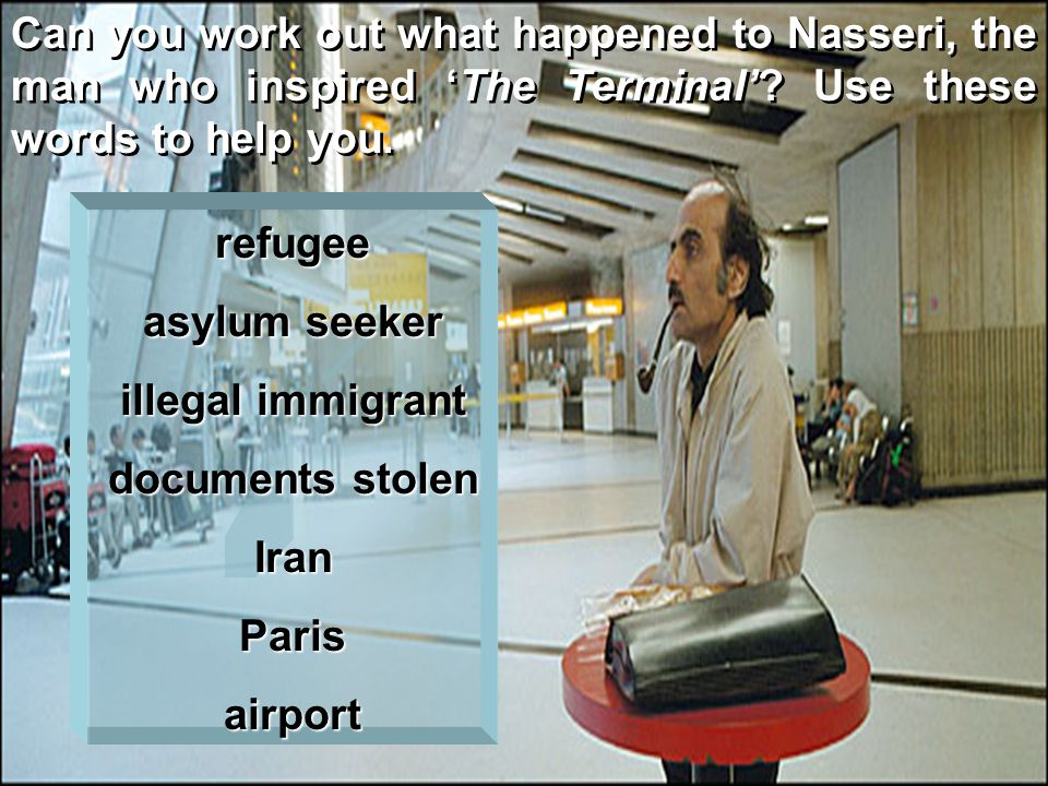 Have you ever had a problem at the airport.How was it resolved.