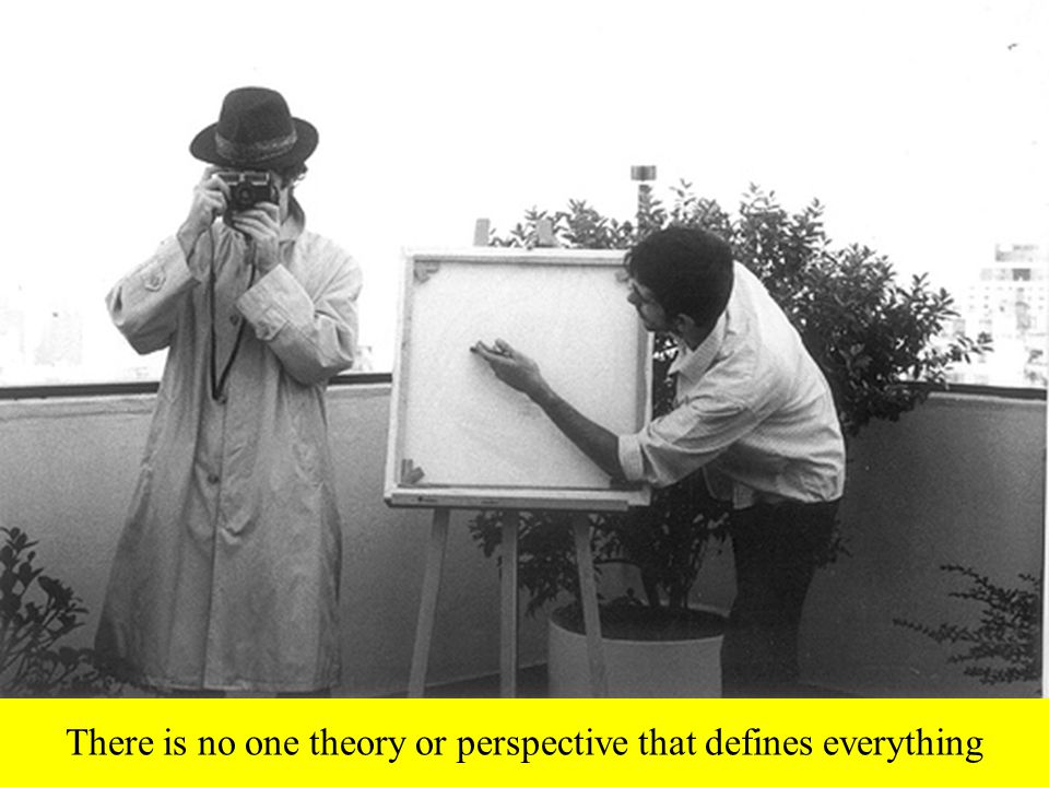 There is no one theory or perspective that defines everything