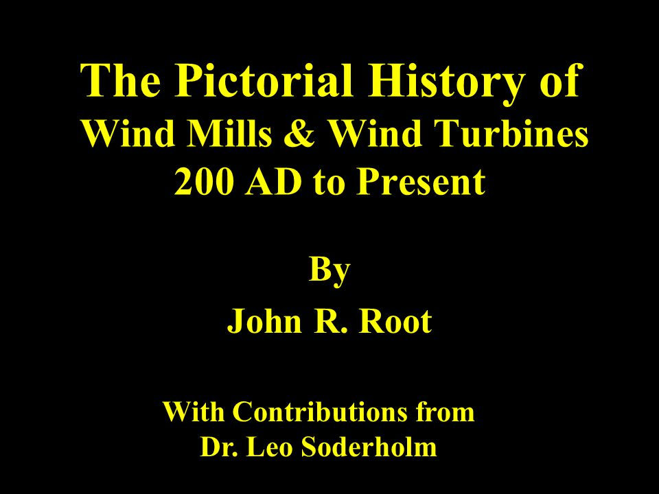 1888 -- First Wind Turbine Inventor -- Charles F.