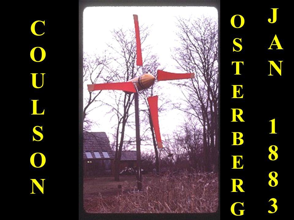 COULSONCOULSON OSTERBERGOSTERBERG JAN 1883JAN 1883